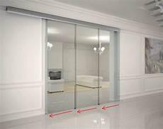 glasschiebetür in wand glas schiebet 252 r schienensystem haus deko ideen