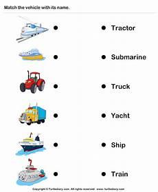 vehicles worksheet for preschool 15244 tractor truck worksheet turtle diary