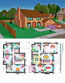 simpsons house floor plan ever wondered about the floor plan of the simpsons house