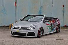 schmidt picks tuned vw golf vi convertible to show new