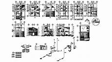 free cad software for house plans 2d cad drawing of house plan elevation auto cad software