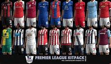 premier league kits pack v3 pes free downloads