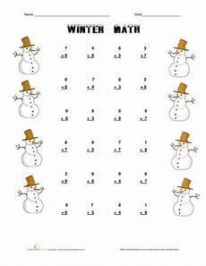 winter algebra worksheets 19953 10 winter math worksheets education