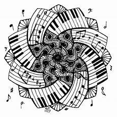 ausmalen als anti stress musik mandala piano 1