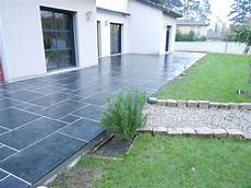 terrasse carrelage anthracite mailleraye fr jardin
