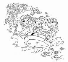 Malvorlagen Lego Friends Easy Lego Friends Coloring Pages Coloring Home