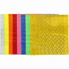 reflective plastic sheet 23x24 cm 20 asstd sheets craft supplies