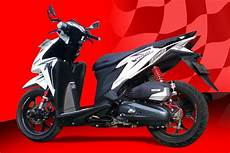Modifikasi Vario 125 by Modifikasi Vario 125 Esp Iss Fi Velg Jari Jari 17 Thailook