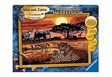 Malen Nach Zahlen Ausmalen Ravensburger Ravensburger Malen Nach Zahlen 187 Afrikanische Impression