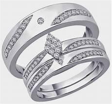 rhombus diamond trio wedding ring sets jared design