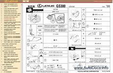 car repair manuals online pdf 2000 lexus sc instrument cluster lexus gs430 300 pdf manual
