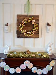 For Decorations by 43 Stylish Easter Mantel Decorating Ideas Digsdigs