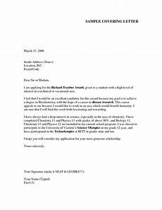 cover letter exle for job application cover letter
