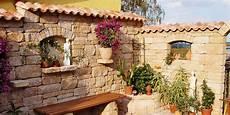 Mauerabdeckungen Beton Granit Naturstein Oder Ziegel