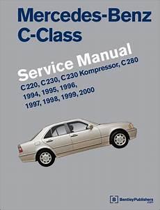 car repair manual download 2000 mercedes benz e class interior lighting mercedes benz c class 1994 2000 w202 service workshop repair manual c220 c230 ebay