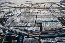 hinterland des autoterminals im nordhafen bremerhaven
