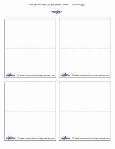 Place Cards Template Blank Blank Printable Place Cards