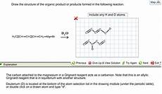 solved draw the structure of the organic product or produ chegg com