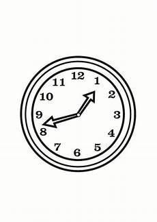 Malvorlagen Uhren Kostenlos Ausmalbilder Uhr Kostenlos 01 Analog Clock Coloring