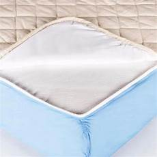 waterproof flat mattress pads quickzip sheet