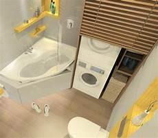 Waschamschine Und Trockner Aufeinander Stellen Und Im Bad