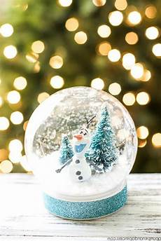 Schneekugel Selber Machen Deko Feiern Diy