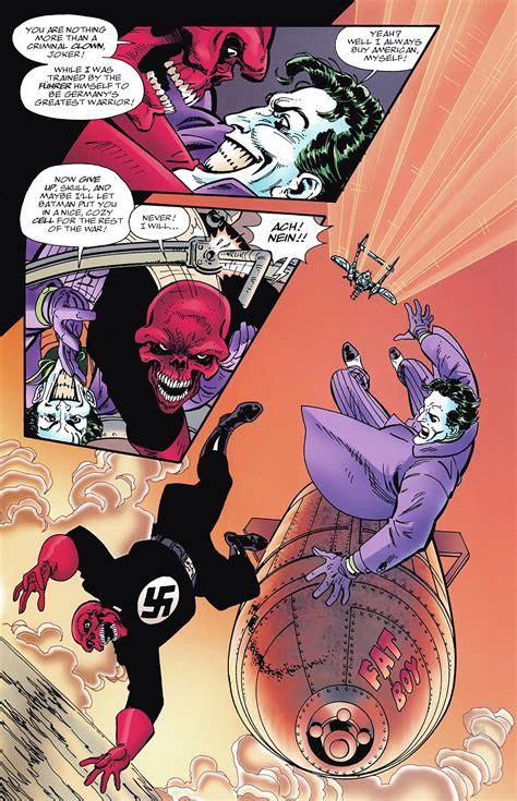 Joker Vs Red Skull