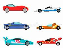 Sport Speed Automobile And Offroad Rally Car Colorful Fast