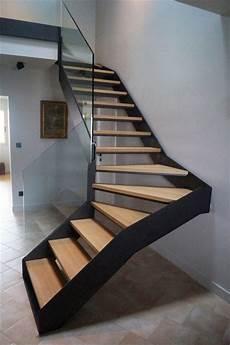 escalier moderne quart tournant escalier kolateral moderne escalier lyon par kozac