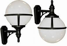 glenbeigh corrosion proof opal globe outdoor wall light black glenbeigh wall