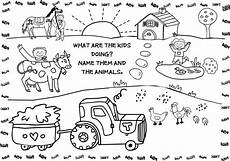 coloring pages of farm animals for preschoolers 17331 free printable farm animal coloring pages for