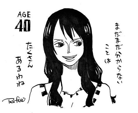 Nico Robin Age