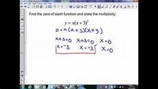 sec 6 2 p1 to write polynomials in standard and factored form youtube