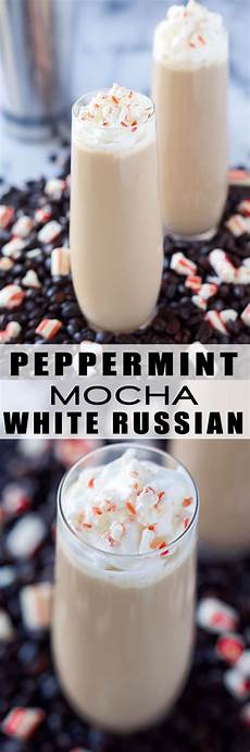 peppermint white russian drink recipe