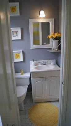 yellow and grey bathroom decorating ideas this colorful small gray bathroom makeover can be done in