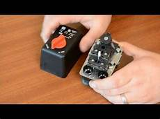 how to adjust condor mdr2 pressure switches with pictures videos answermeup