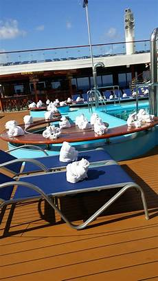 pool spa fitness carnival triumph cruise ship cruise critic