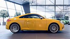 vegas yellow tts graces audi showroom floor carscoops