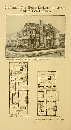 stickley house plans twenty four craftsman houses with floor plans stickley