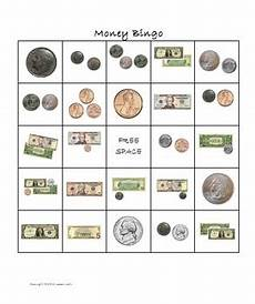 money bingo worksheets 2076 money bingo dollars and coins by lesson tpt
