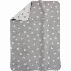 Alvi 174 Babydecke Mit Uv Schutz Baumwolle Sterne Grau 75