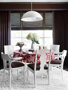 paint eclectic chairs for a cohesive hgtv