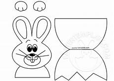 Easter Bunny And Egg Craft Template Easter Template