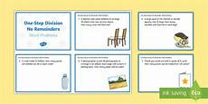 ks2 one step division no remainders word problems maths