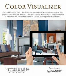 the new pittsburgh paints and stains digital color visualizer eliminates the guesswork in