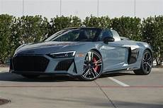 new 2020 audi r8 spyder kemora gray car for sale