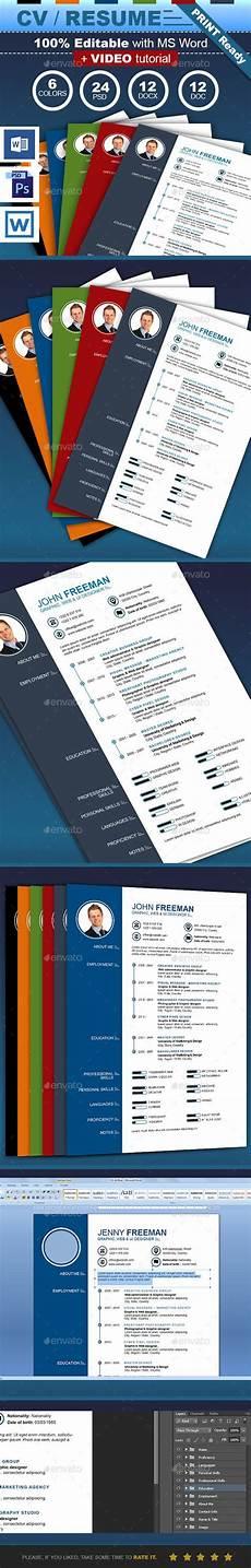 new cv resume by cbgmedia the new cv resume is very easy