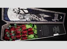 These ?Nightmare Before Christmas? Roses Come in a Coffin