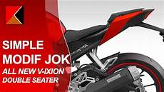 Jok Modifikasi by Modifikasi Jok Asli Motor All New Vixion