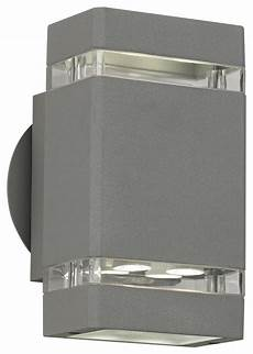 matte silver outdoor led up and down wall light matte silver gray 8 quot high led up down outdoor wall light contemporary outdoor wall lights